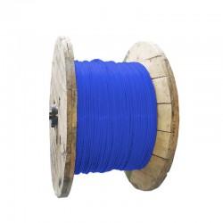 Cable de Cobre Aislado No 8 AWG Metro THHN Color Azul