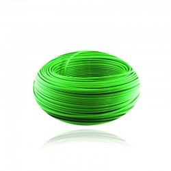 Cable de Cobre Aislado No 10 AWG Metro THHN Color Verde