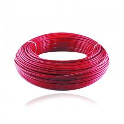 Cable de Cobre Aislado No 12 AWG Metro - LIBRE DE HALOGENOS Color Rojo