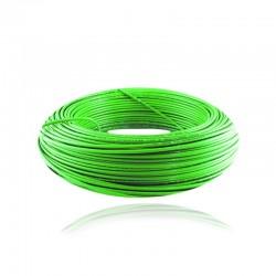 Cable de Cobre Aislado No 12 AWG Metro - LIBRE DE HALOGENOS Color Verde