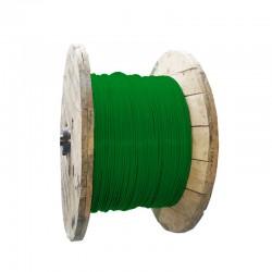 Cable de Cobre Aislado No 14 AWG Metro - LIBRE DE HALOGENOS Color Verde