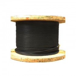 Cable de Cobre Aislado Soldador No 2-0 NEGRO