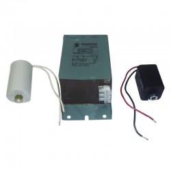 Kit Luminarias Metal halide 400W a 220V Ref: INCLUYE REACTANCIA Y CONDENSADOR