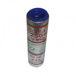 Empalme IED Tubular Aluminio-Estañado Ponchar No 250 MCM Ref: YSI250 ALUMINIO