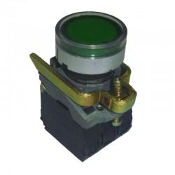 Piloto de Señalizacion Con LED Verde 22mm 220V