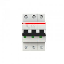 Breaker de Riel ABB Tripolar 3 x 20A - 10KA - Ref: 2CDS253001R0204