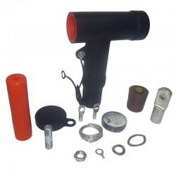 Conector Tipo Tornillo Para Celda 24KV 800A 2 - 2-0 AWG JUEGO X 3 Ref: RSTI-5851 / CM0009-011