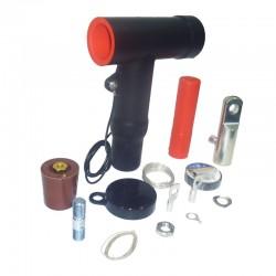 Conector Tipo Tornillo Para Celda 24Kv 800A 3-0 - 350 AWG JUEGO x 3 Ref: RSTI-5853 / CM0011-011