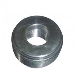 Reduccion Bushing CROUSE HINDS Serie RE para areas peligrosas de 1 1-2 Pulg X 3-4 Pulg M-H en Aluminio Ref: RE52 SA