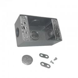 Caja Tipo RADWELL 5800 Con Salida 3-4 Pulgadas 3 Huecos