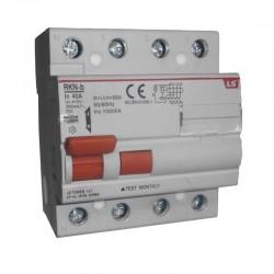 Breaker GFCI 3 X 40 Amp 300Ma 10Ka Ref: RKN-B