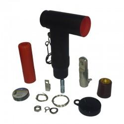 Conector Tipo Codo en T Para Celda 42Kv 800A 250-500AWG Ref: RSTI-6853 / CR5011-011