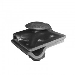 Grapa DEHN Universal Cruz-Paralela Rd810Mm Aluminio Tornillo St-tZn Ref: 390061