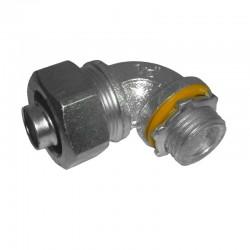 Conector Coraza A Prueba Liquidos Curvo 1/2 Hierro Ref: LT5090 / 650120