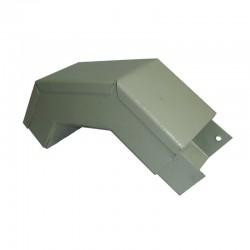 Curva Vertical Exterior Para Canaleta 4 x 6 cm Calibre 22 Ref: RAL 7032
