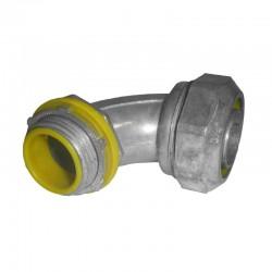 Conector Coraza Liquid - Curvo 3-4 Pulgadas Zinc Ref: ELT-7590