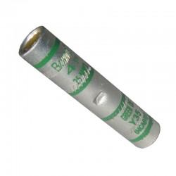 Empalme IED Tubular Aluminio-Estañado Ponchar No 4 AWG Ref: YSI004 ALUMINIO
