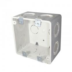 Caja PVC 10x10 Doble Fondo
