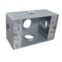 Caja Tipo RADWELL 5800 Con Salida 3-4 Pulgadas 5 Huecos