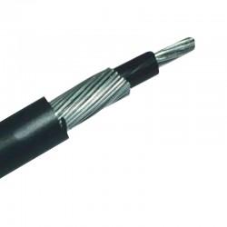 Cable con Neutro Concentrico 6-6 Aluminio Serie 8000 de Monofasico METRO