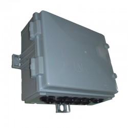 Caja Para Acometida en Policarbonato Trifasica de 9 Usuarios - 140 Amp