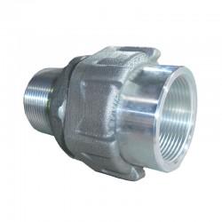 Unión Universal CROUSE HINDS de 1 1-2 Pulg Hembra - Macho en Aluminio Ref: UNY505 SA