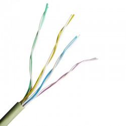 Cable Telefonico Encauchetado de 4 Pares para Uso Interior de METRO
