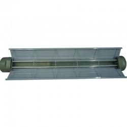 Luminaria CROUSE HINDS 2x54W Cl 1 DIV 1 y 2 T% 110-227V Ref: XAFR-1T5 / TEL0254