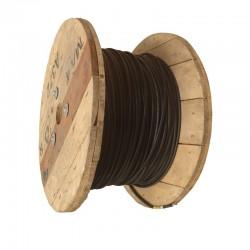 Cable de Cobre Solar 4mm2 XLPE-XLPE 1KV 120C Negro