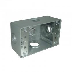 Caja Tipo RADWELL 5800 Con Salida 3-4 Pulgadas 4 Huecos