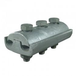 Conector Aluminio 3 Pernos 266-266 Kcmil Retie