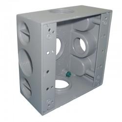 Caja Tipo RADWELL 2400 Con Salida 1 Pulgadas 5 Huecos