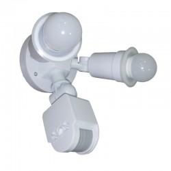 Sensor De Movimiento Lampara Doble Foco 3W Led