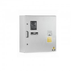Caja Contador Trifásica para 1 Medidor 50-150A con Espacio para Totalizador - 60x60x20 AE-305