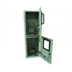 Caja Contador Monofásica Vertical para 2 Medidor 64X20X16