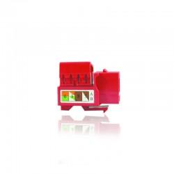 Jacks de Conexion cat 5 Rojo