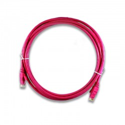 Patch Cords categoria 5e x 3 mts Rojo - LS-PC-UC5E-RD-03
