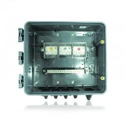 Caja de Derivacion en Policarbonato Trifasico 6 Usuarios - Monofasico 12 Usuarios Marca Compac - 150AMP - CODENSA