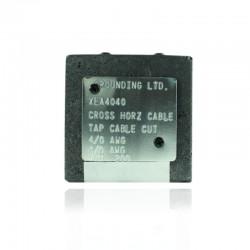 Molde GROUNDING Cable a Cable en Cruz 4-0 a 4-0 - XEA-4040